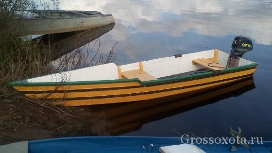 двигатель для деревянной лодки